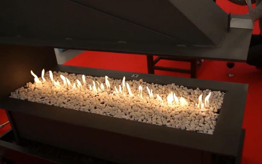 Безпечний газовий камін - чудова альтернатива дров'яним печам