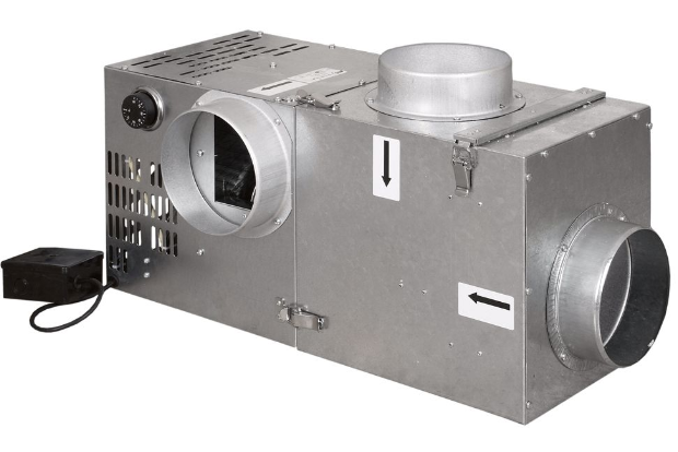Турбіна для каміна PARKANEX 400 м3/год з фільтром