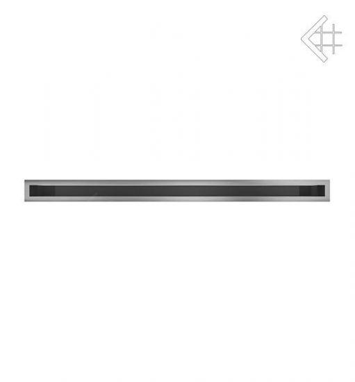 Решётка вентиляционная LUFT SF60x1000 mm - шлифованая