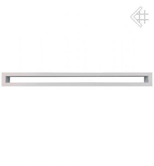 Решётка вентиляционная Тунельная 60x1000 mm - белая